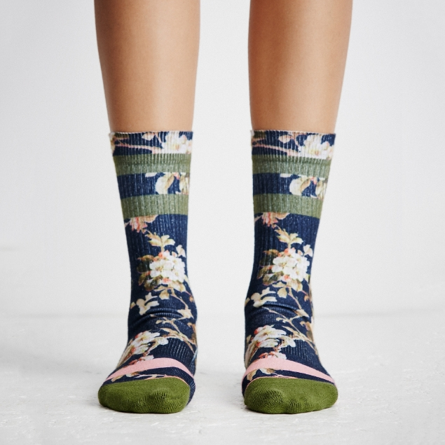 Picture of Flower Print Socks
