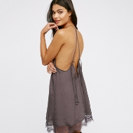 Picture of Satin Baby Doll Dress