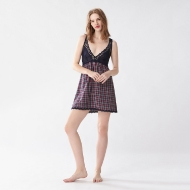 Picture of Checked Nightwear Dress