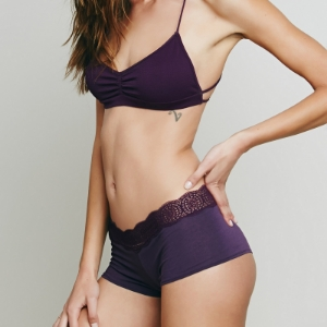 Picture of Cotton Dream Shorts - Dark Violet